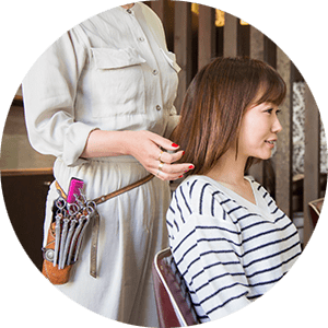 美髪色-施術行程